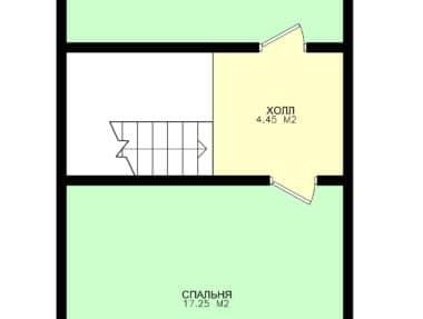 Планировка Дом Фаворит - купить +7 (495) 798-18-28
