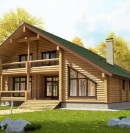 Дом коттедж «Боярин» под усадку - купить +7 (495) 798-18-28