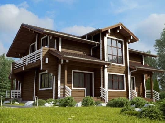 Дом «Форест» под ключ - купить +7 (495) 798-18-28