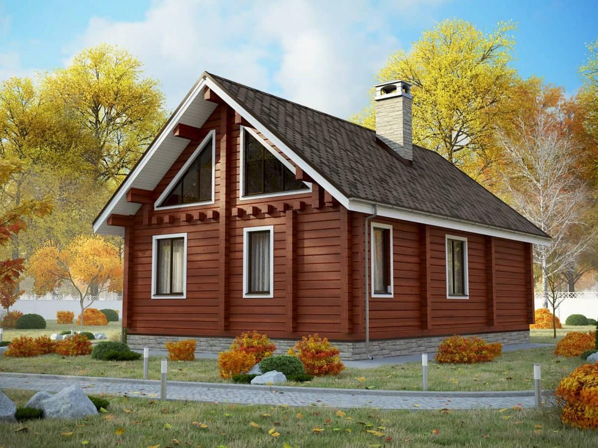 Дом Гест из бруса