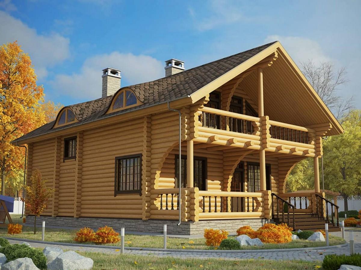 Дом Илья из бруса