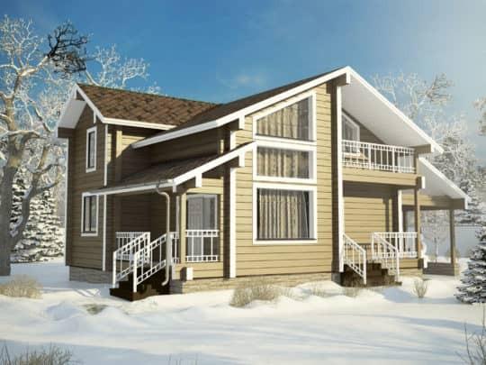 Дом «Комфорт» под усадку - купить +7 (495) 798-18-28