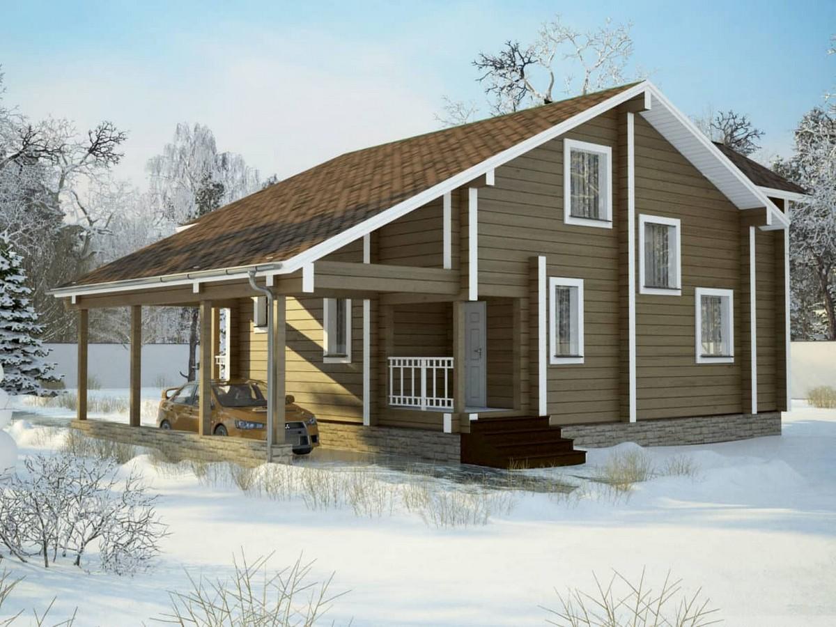 Дом Комфорт под усадку - купить +7 (495) 798-18-28