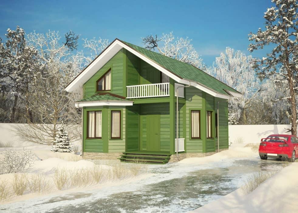 каркасная технология, технология каркасного строительства, Каркасные дома