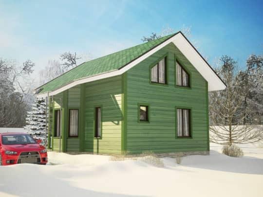 Дом «Монреаль» под ключ - купить +7 (495) 798-18-28