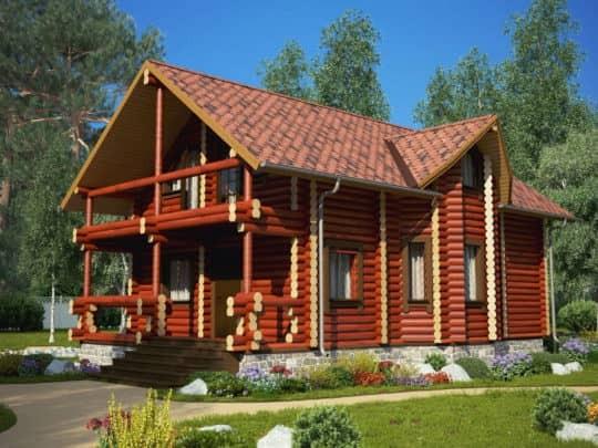 Дом «Русь» под усадку - купить +7 (495) 798-18-28