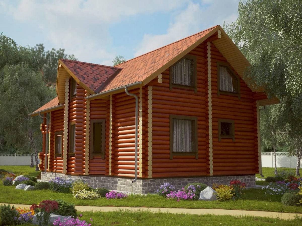 Дом Русь из бруса