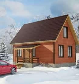 Строительство загородных домов из дерева «Топаз» под ключ