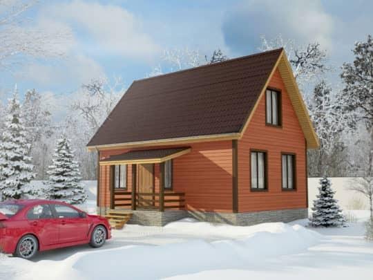 Строительство загородных домов из дерева «Топаз» под ключ - купить +7 (495) 798-18-28