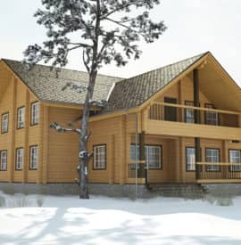 Дом «Викинг» под усадку - купить +7 (495) 798-18-28