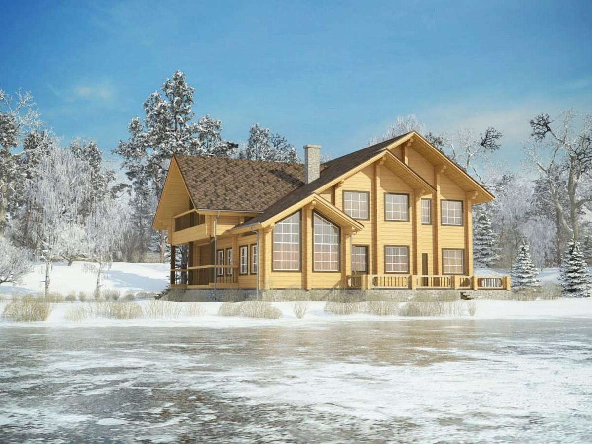 Строительство деревянных каркасных домов