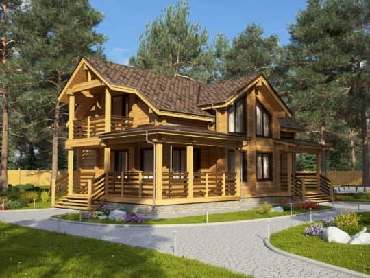 Дом «Жизель» под усадку - купить +7 (495) 798-18-28