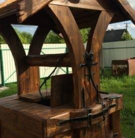 Верх для колодца деревянный - купить +7 (495) 798-18-28