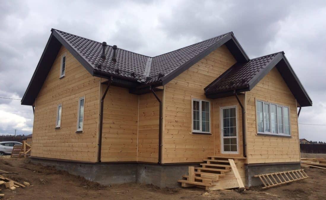 Завершено строительство каркасного дома в Калужской области