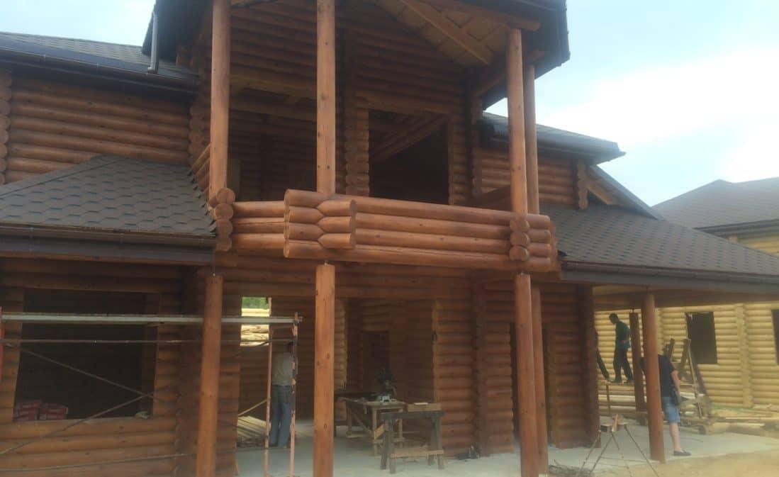 Завершено строительство дома в Крыму