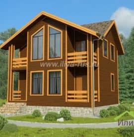 Дом «Кристалл» под ключ - купить +7 (495) 798-18-28