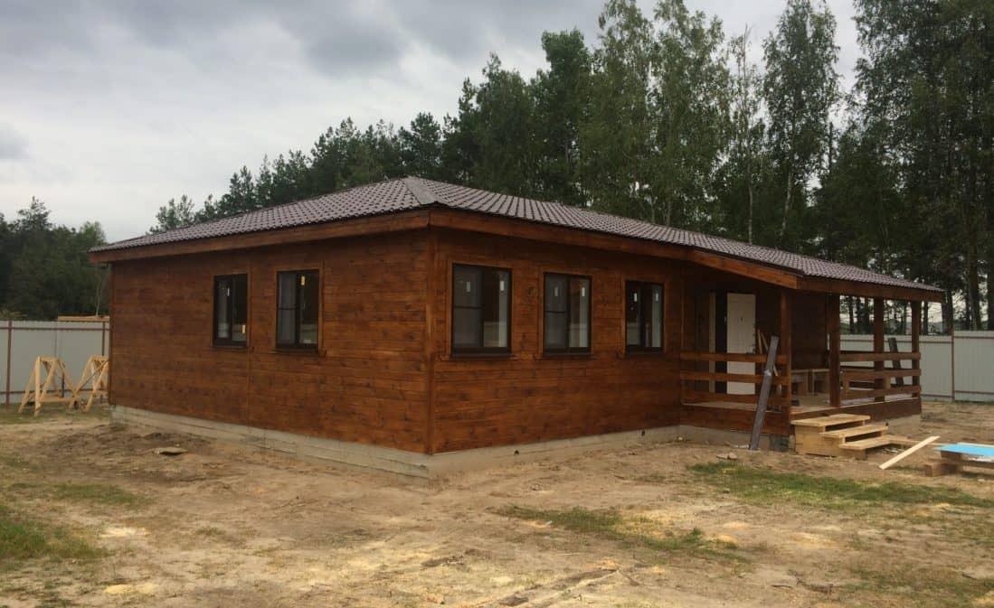 Каркасный дом в ДНТ «Барские просторы»