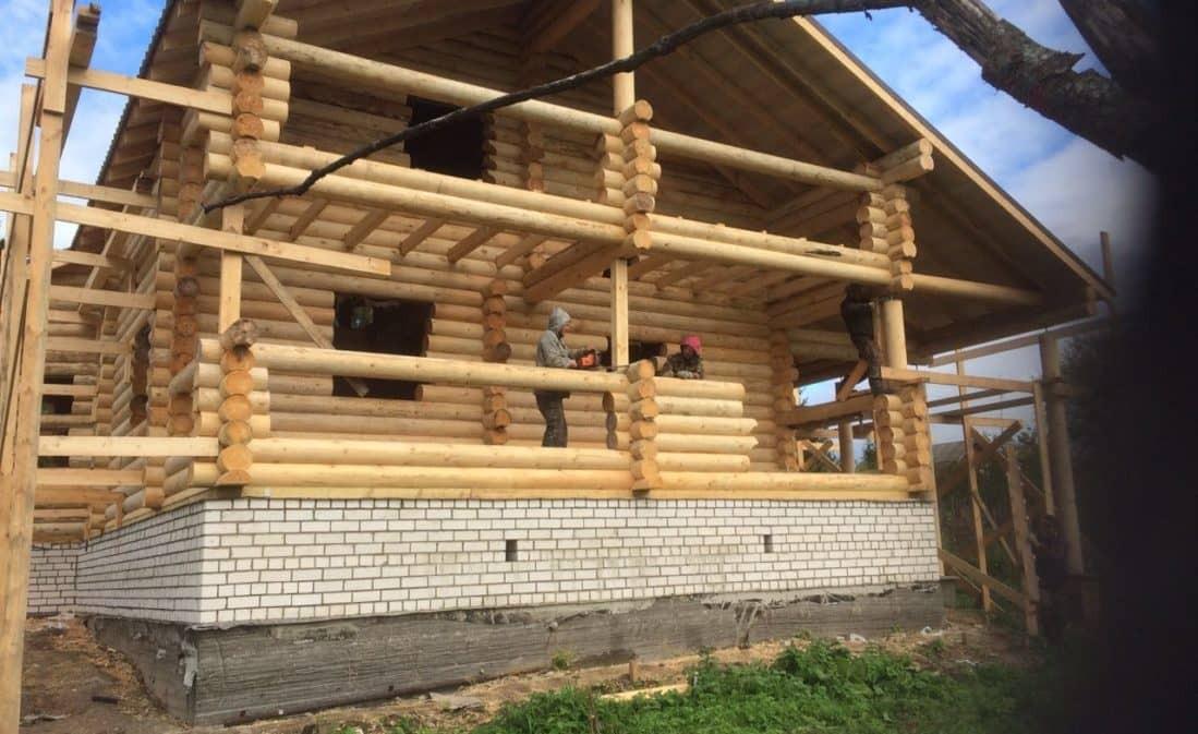 Завершено строительство дома в г. Петушки