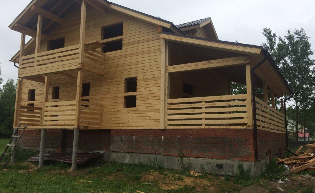 Дом из профилированного бруса в Виноградово
