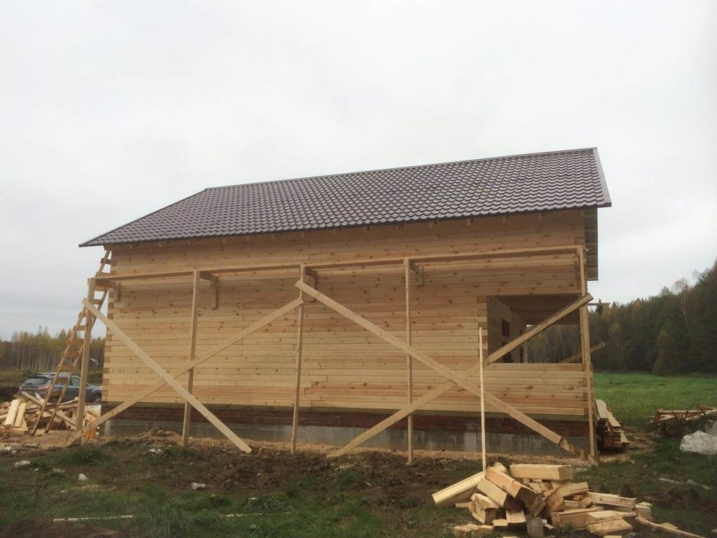 строительство дома в Ногинске, Лесные Дали