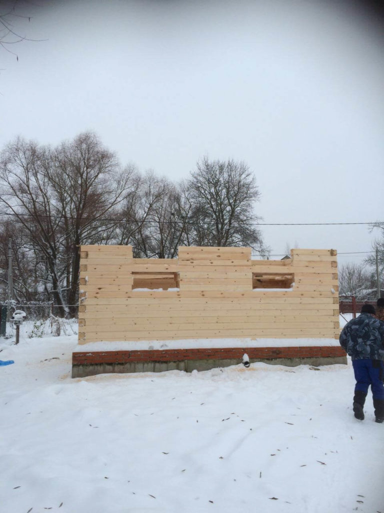 строительство деревянного дома в Куровском