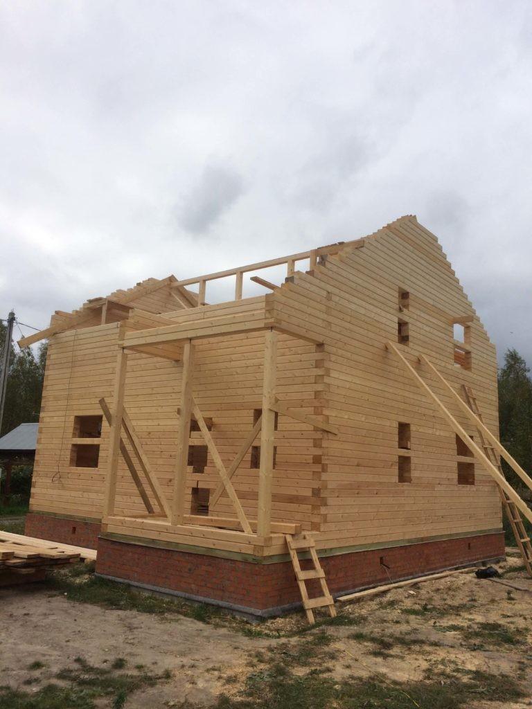"""Строительство домов из профилированного бруса """"под ключ"""""""