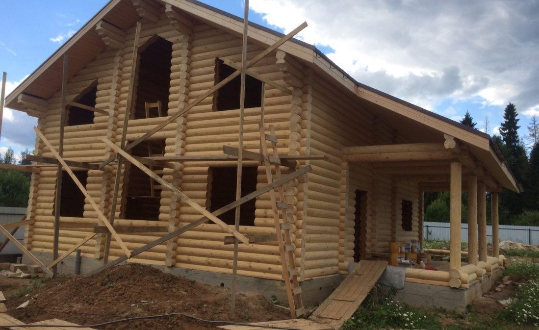 Дом из ОЦБ -240мм в Щелково
