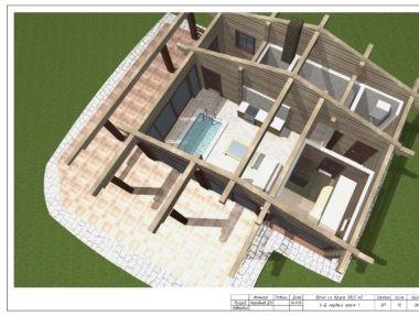 Планировка  Баня Лафетофф - купить +7 (495) 798-18-28