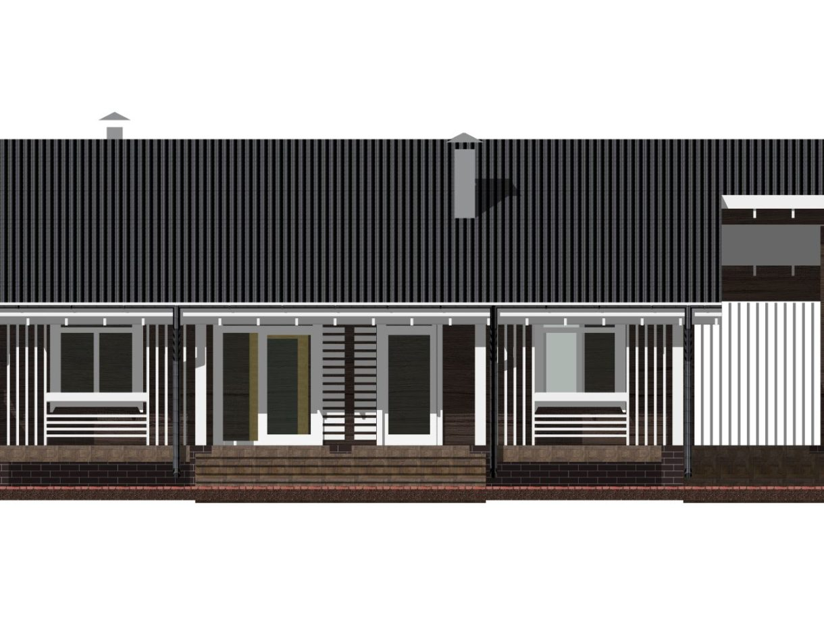 Дом Одноэтажный под усадку - купить +7 (495) 798-18-28