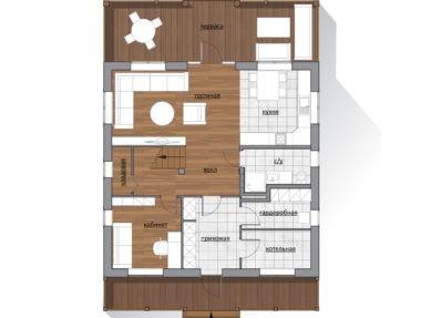Планировка  Дом Семейный - купить +7 (495) 798-18-28