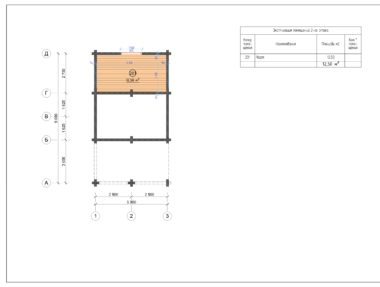 Планировка Баня №235 - купить +7 (495) 798-18-28