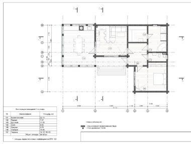 Планировка Баня Лесная - купить +7 (495) 798-18-28