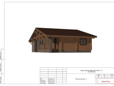 Планировка Баня Юлия - купить +7 (495) 798-18-28