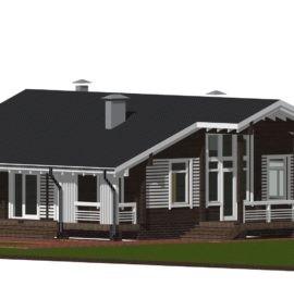 Дом «Одноэтажный» под усадку - купить +7 (495) 798-18-28