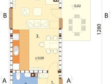 Планировка Дом Виниум под ключ - купить +7 (495) 798-18-28
