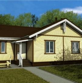 Одноэтажный дом с мансардой под ключ - купить +7 (495) 798-18-28