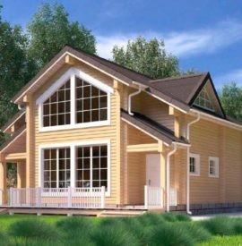 Дом из профилированного бруса для постоянного проживания под усадку - купить +7 (495) 798-18-28