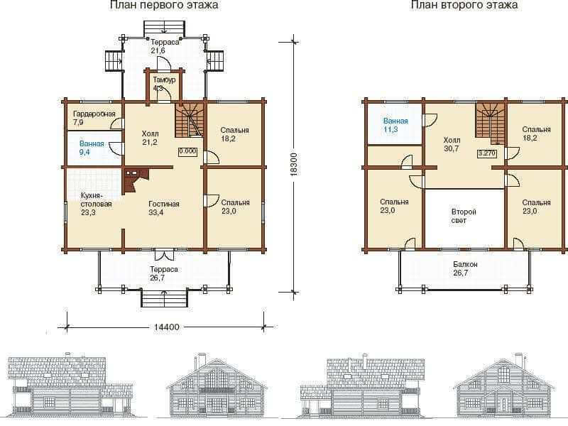 Брусовый дом под усадку - купить +7 (495) 798-18-28