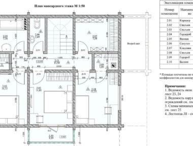 планировака Дом из клееного бруса под усадку - купить +7 (495) 798-18-28