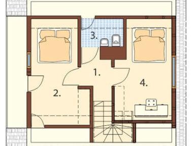 Планировка Дом Возвышенный под ключ - купить +7 (495) 798-18-28
