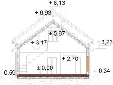 Планировка Дом Оман под ключ - купить +7 (495) 798-18-28